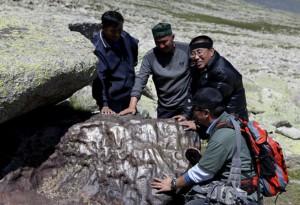 chinese iron meteorites xinjiang aletai altay china