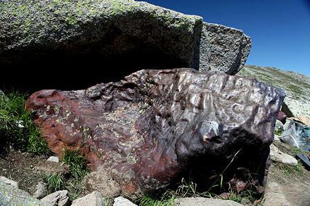 stony iron meteorites earth